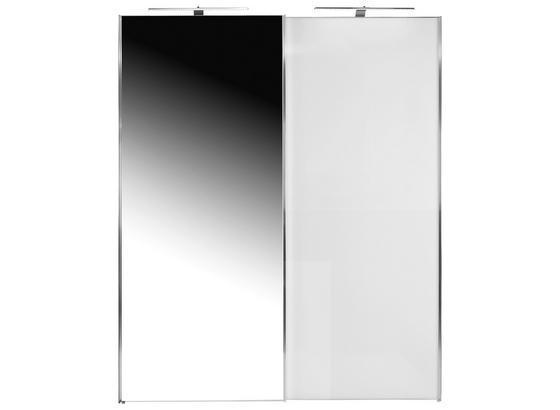 Skříň S Pos. Dveřmi.(hor.ved.) Sonate 200x222cm - bílá, Moderní, dřevo (200/222/68cm) - Luca Bessoni