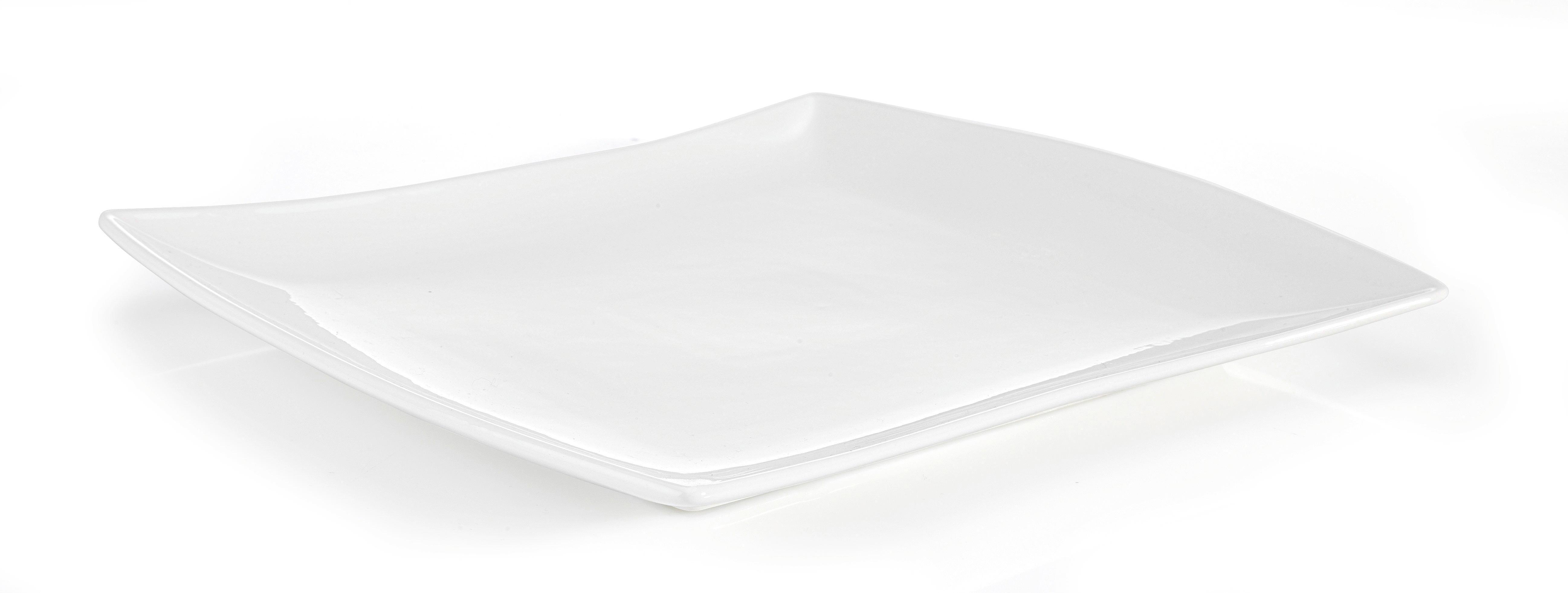 Talíř Jídelní Tacoma -top- - bílá, Lifestyle, keramika (28/25cm) - PREMIUM LIVING