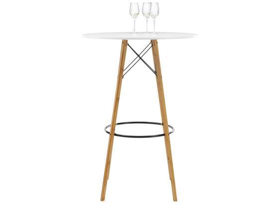 8ca32c0dec56 Barový Stôl Durham - prírodné farby čierna