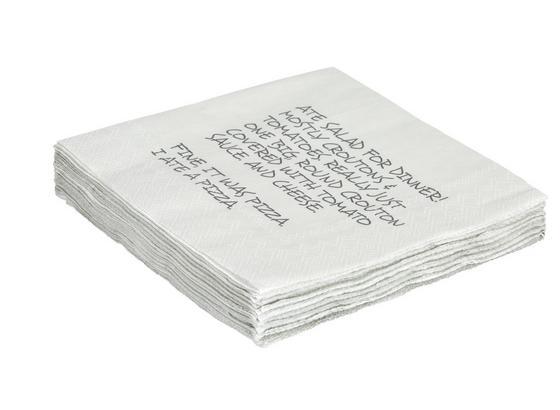 Ubrousek Abbie - béžová, Moderní, papír (16/16cm)