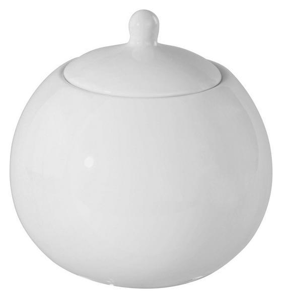 Cukortartó Felicia - fehér, konvencionális, kerámia (26cm) - OMBRA
