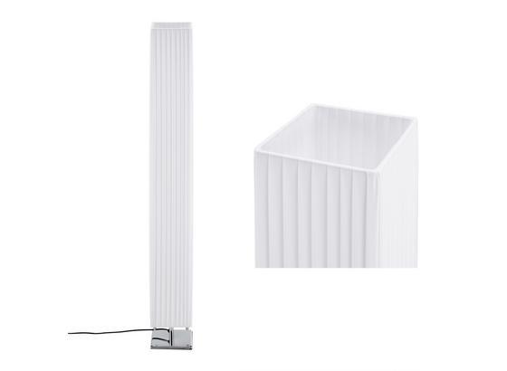 STOJACIA LAMPA AGNES - biela, Romantický / Vidiecky, kov/textil (119/14/14cm) - Mömax modern living