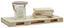 Regál Nástěnný Pallette - barvy borovice/přírodní barvy, dřevo (60/5/24cm)