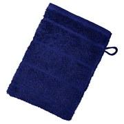 Waschlappen Liliane - Dunkelblau, KONVENTIONELL, Textil (16/21cm) - Ombra