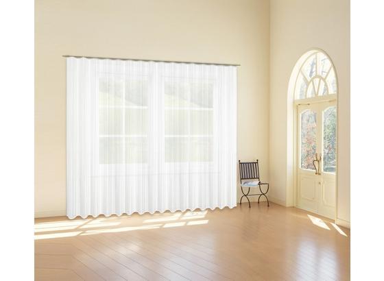 Store One ca. 450/245cm - Weiß, KONVENTIONELL, Textil (450/245cm) - Ombra