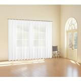 Store Transparent One BxL: 450x245 cm - Weiß, KONVENTIONELL, Textil (450/245cm) - Ombra