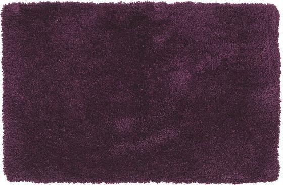 Hochflorteppich Dodo 60x90 cm - Lila, KONVENTIONELL, Textil (60/90cm) - Luca Bessoni