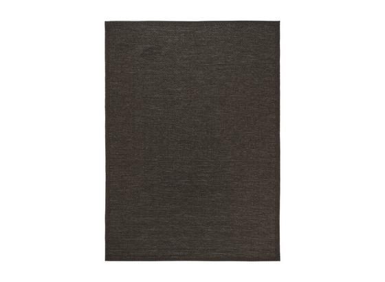 Flachwebeteppich Melbourne - Braun, Basics, Textil (80/150cm) - James Wood
