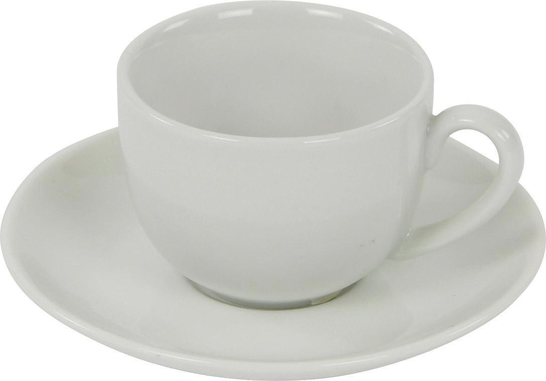 Csészealj Felicia - fehér, konvencionális, kerámia (11,9/1,6cm) - OMBRA