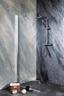 Duschtrennwand Sanoflex Young 85cm - MODERN, Glas (85-87/195cm)