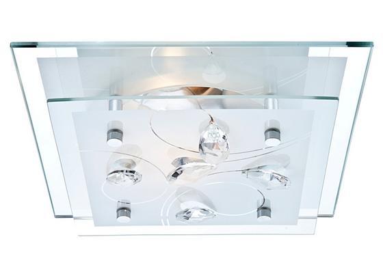 Deckenleuchte Isabell - KONVENTIONELL, Glas/Metall (24/9/24cm) - James Wood
