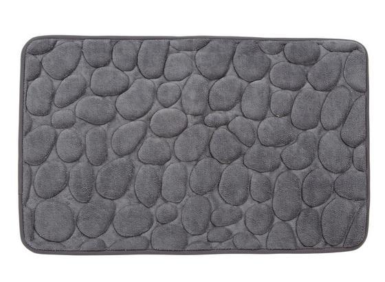 Badematte Rihanna - Dunkelgrau, MODERN, Textil (50/80cm) - Luca Bessoni