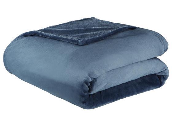 Měkká Deka Michael Xxl -top- - tmavě modrá, textil (220/240cm) - Mömax modern living