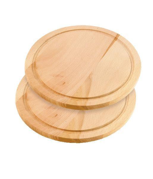 """Daska Za Rezanje """"bruno"""" - smeđa, Konvencionalno, drvo (25cm) - OMBRA"""