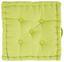 Sedák Ninix - zelená, textil (40/40/10cm) - MÖMAX modern living