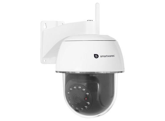 Überwachungskamera Innen/ Außen Wlan mit Nachtsicht - Schwarz, MODERN, Metall (11,4/16,9/20,6cm)