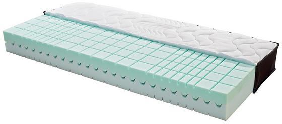 Komfortschaum- & Wendematratze Lifestyle H3 140x200 - Schwarz/Weiß, MODERN, Textil (200/140/21cm) - Primatex Deluxe