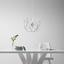 Závěsné Led Svítidlo Lucy Max. 60 Watt - barvy chromu, Moderní, kov (45cm) - Modern Living