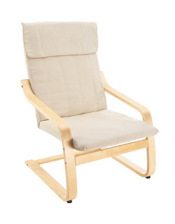Tv-fotel Sally - natúr színek/nyírfa színű, modern, műanyag/fa (68/98/78cm)