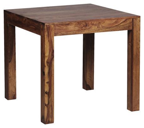 Quadratischer Esstisch aus Sheeshamholz