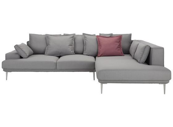Sedacia Súprava Livio - sivá, Moderný, textil (293/90/225cm) - Premium Living