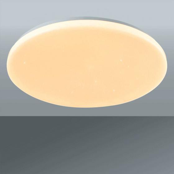 Led Stropní Svítidlo Andreas - bílá, Romantický / Rustikální, kov/umělá hmota (58/7cm) - Premium Living