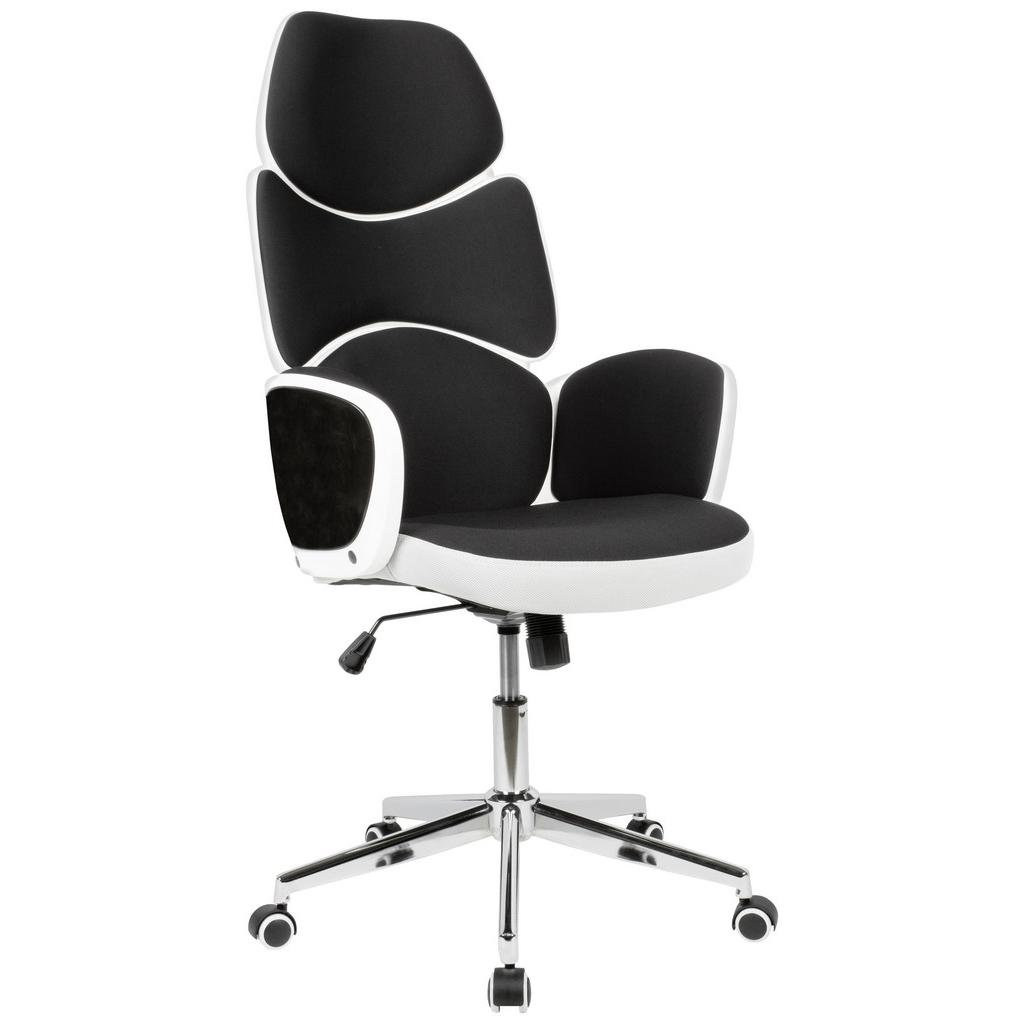 kancelárske kreslo Čierna/biela