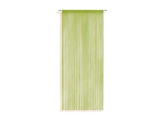 Fadenstore Marietta ca. 90/245cm - Grün, KONVENTIONELL, Textil (90/245cm) - Ombra
