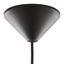 Závesná Lampa Sina - čierna, Moderný, kov (30/129cm) - Modern Living