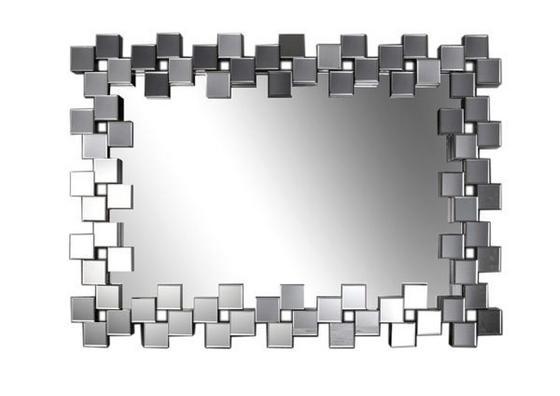 Nástenné Zrkadlo Tivoli - strieborná, drevo (120/85,5/4,7cm) - Mömax modern living