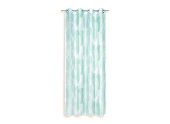 Ösenvorhang Susan - Mintgrün, KONVENTIONELL, Textil (135/245cm) - Ombra