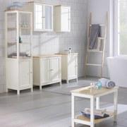 Regál Do Koupelny Jule - bílá/barvy smrku, Moderní, dřevo (40/160/38cm) - MODERN LIVING