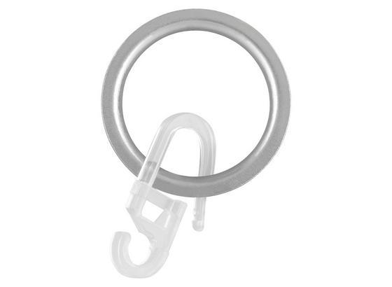 Krúžok Combi, 10 Ks - farby ušľachtilej ocele, Moderný, kov (1/1/1cm) - Mömax modern living