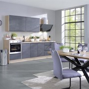 Küchenblock Santiago - MODERN, Holzwerkstoff (285cm) - Vertico