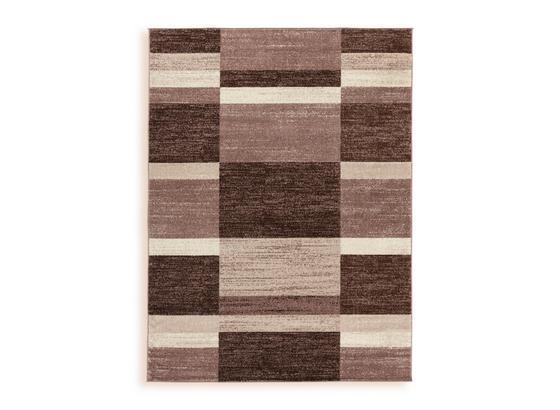 Webteppich Sophia 120x170 cm - Beige, MODERN, Textil (120/170cm) - Ombra