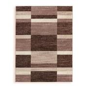 Webteppich Sophia 160x220 cm - Beige, MODERN, Textil (160/220cm) - Ombra