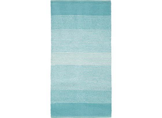 Hadrový Koberec Malto - světle modrá, Moderní, textil (70/140cm) - Mömax modern living