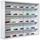Závěsná Vitrína Compilati -top- - bílá, kompozitní dřevo/sklo (80/60/9.50cm) - Mömax modern living