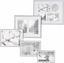 Rám Na Obrazy Mara - barvy stříbra, umělá hmota (28,9/36,9/1,8cm) - Modern Living