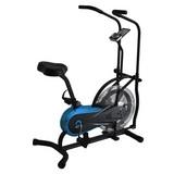 Heimtrainer Air Bike Lht 500 - Silberfarben/Schwarz, Kunststoff/Metall (111/61/136cm)