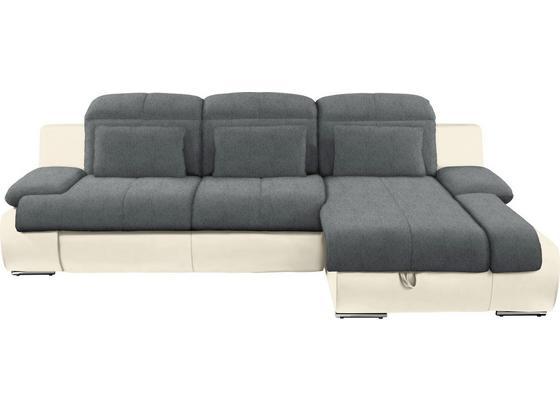 Sedacia Súprava Multi - sivá/krémová, Moderný, textil (260/184cm)