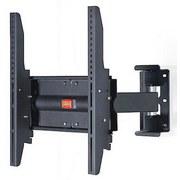 TV-Wandhalter Ws 205 B: 40 cm - Schwarz, KONVENTIONELL, Metall (40/40/32cm)