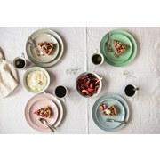 Kombiservice Kitchen Time II 16-Tlg. - Hellblau, Basics, Keramik (31,5/31,5/33,5cm)