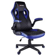 Gamingstuhl Racing Delta Electric Blau - Blau/Schwarz, Basics, Kunststoff/Metall (72/69.5/122cm)
