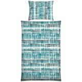 Bettwäsche Kalinda - Blau/Rot, MODERN, Textil - Luca Bessoni