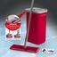 Bodenreinigungsset Cleanmaxx Komfort-Mopp - Rot, Basics, Kunststoff (19,9/15,0/125,5cm) - TV - Unser Original