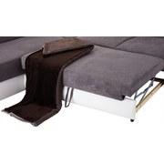 Sedací Souprava Miami - bílá/béžová, Basics, dřevo/textil (210/260cm) - Ombra