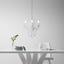 Svítidlo Závěsné Isabella - čiré/barvy chromu, Romantický / Rustikální, kov/umělá hmota (35/125cm) - Mömax modern living