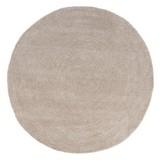 Teppich Blanca Ø 150 cm - Beige, Textil (150cm) - James Wood