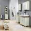 Regál Do Kúpeľne Jule - biela/farby smreku, Moderný, drevo (40/160/38cm) - Modern Living